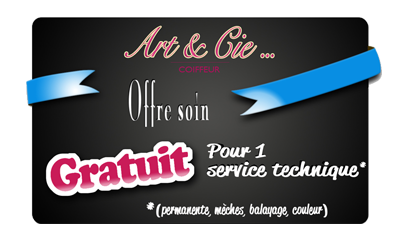 Art & Cie... Offre soin - Coiffeur Angers